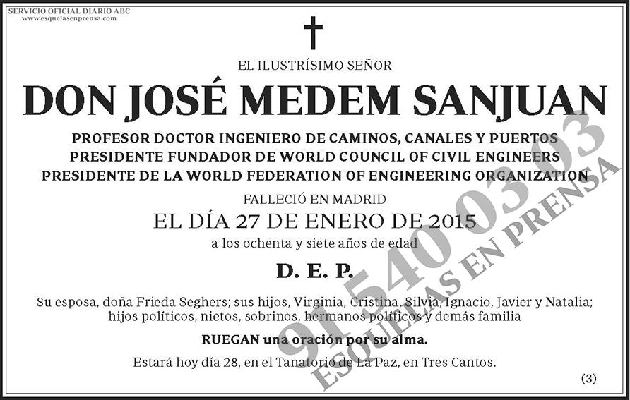 José Medem Sanjuan